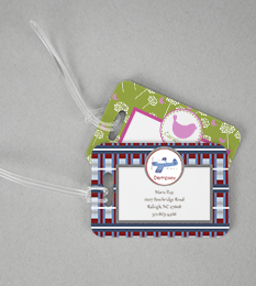 Address Bag Tags