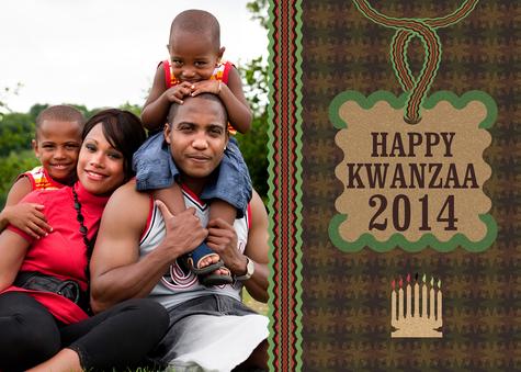 Kwanzaa Cards, Kwanzaa Twist Design
