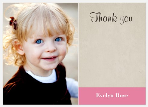 Miss RoseBerry Thank You Cards