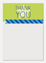 Star Stripe -  Photo Thank You Cards