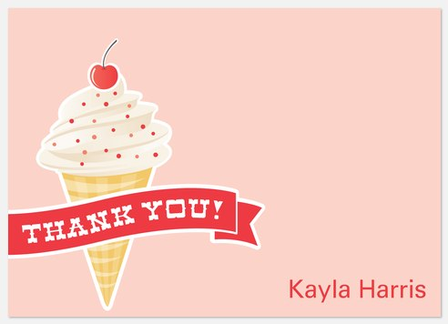 Cherry Top Thank You Cards