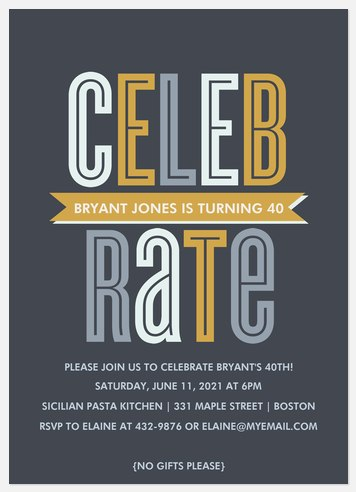 Top Rated Adult Birthday Invitations