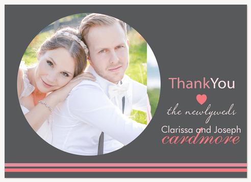 Wedding Thank You Cards, Newlywed Thanks Design