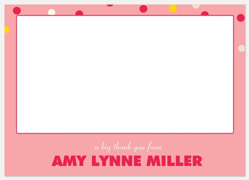 Candy Confetti Thank You Cards
