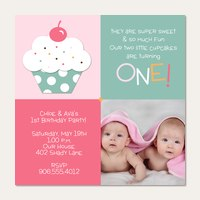 Twin Birthday Invitations | Simply to Impress
