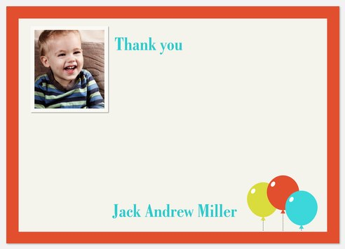 One Guy Thank You Cards