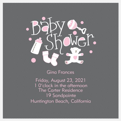 Shower Gifts Baby Shower Invitations