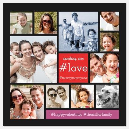#LOVE Valentine Photo Cards