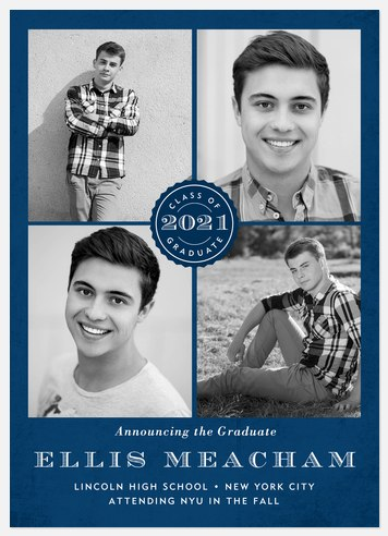 Official Seal Graduation Cards