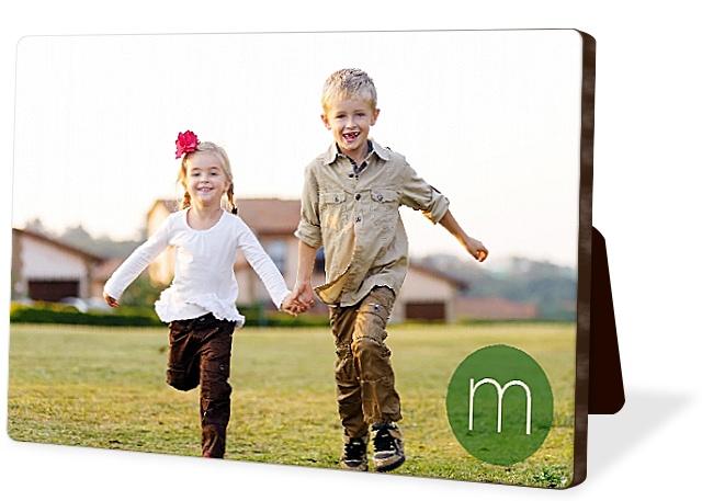 Modern Initial Photo Easel Panels
