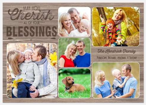 Western Blessings Holiday Photo Cards
