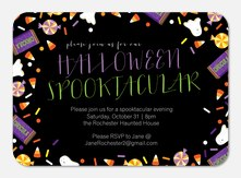 Halloween Invitations - Candy Time