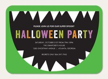Halloween party invitations halloween invitations simply to impress monster mouth stopboris Images