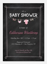 Baby Shower Invites - Precious Bundle