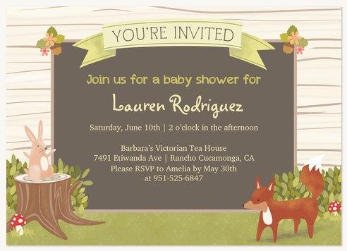 Baby boy shower invitations baby shower invitatio woodland storybook filmwisefo