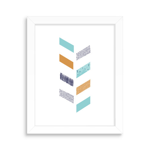 Wall Art, Modern Chevron Design
