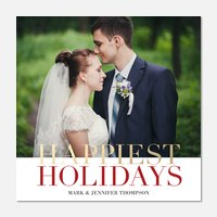 Newlywed Christmas Cards | PhotoAffections