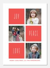 holiday photo cards - Bold Mosaic