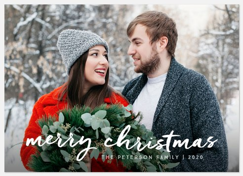 Luxe Christmas  Holiday Photo Cards