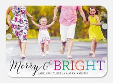 Boldly Bright -  holiday cards