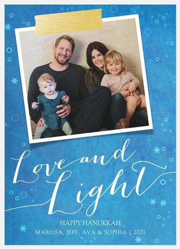 Hanukkah Blessings  Hanukkah Photo Cards