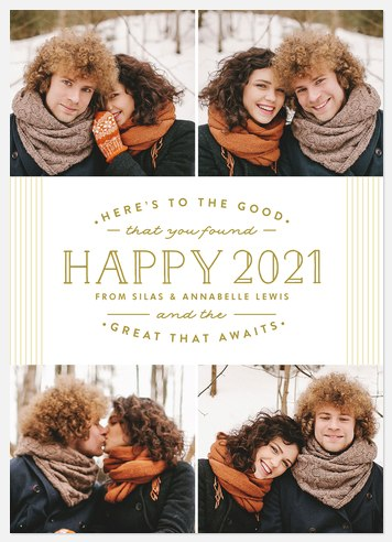 Goodness & Greatness  Holiday Photo Cards