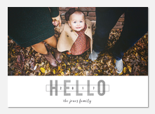 new years photo cards - Hello All