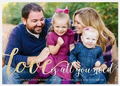 Darling Love Valentine Photo Cards