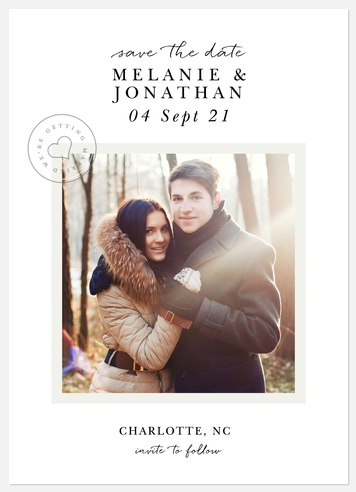 True Love  Save the Date Photo Cards