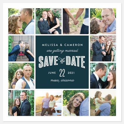 Sweet Moments Save the Date Photo Cards