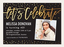 Adult Birthday Invitations Simply To Impress