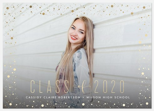 Sprinkled Confetti  Graduation Cards