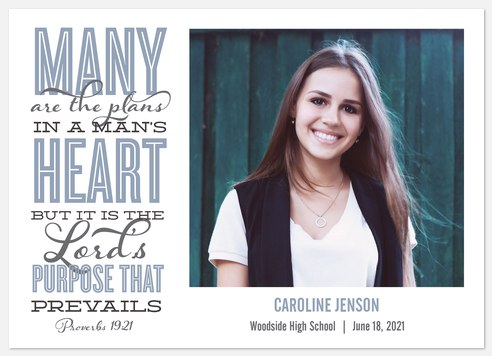 Plans & Purpose Graduation Cards
