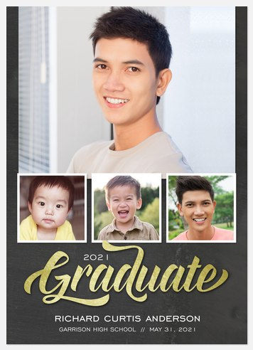 Charming Success Graduation Cards