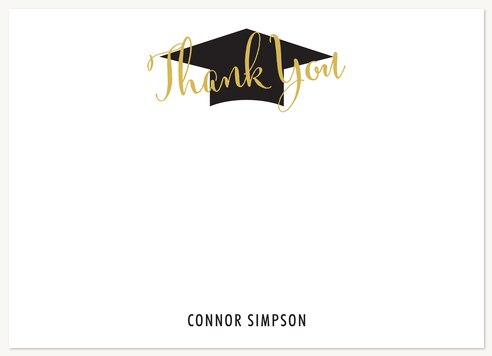 Honored Celebration Thank You Cards
