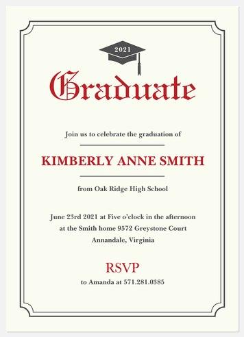 Diploma Achievement Graduation Cards