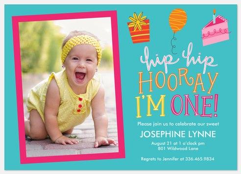 Little Wonderful  Kids' Birthday Invitations