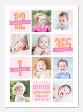 1st Birthday Invitations Photoaffections