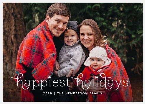 Magical Holiday Holiday Photo Cards