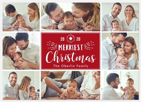 Wondrous Collage Holiday Photo Cards