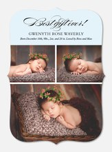 Grand Arrival -  Baby Holiday Cards