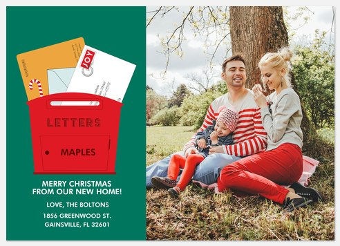 Cheerful Mail Holiday Photo Cards