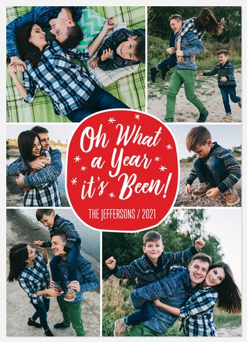 Magical Year Holiday Photo Cards