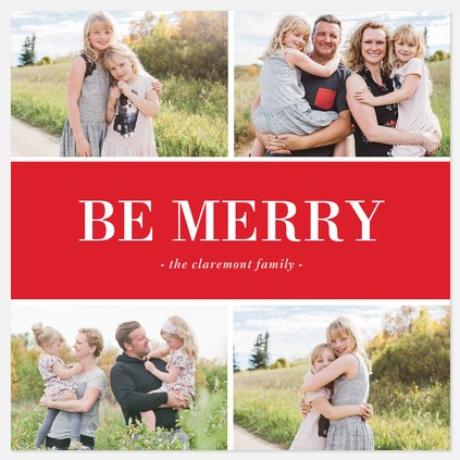 Be Merry Red