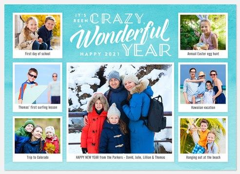 Crazy Wonderful Holiday Photo Cards