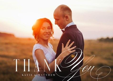 Thank You Cards , Grateful Elegance Design