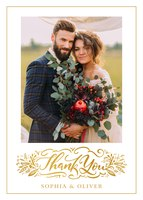Botanical Thank You - Wedding Thank You Cards