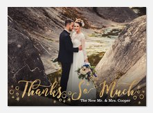 Wedding Thank You Cards Photoaffections