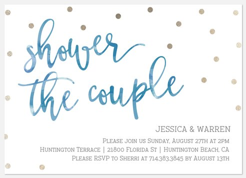 Shower The Couple Bridal Shower Invitations