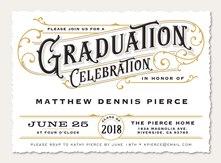 graduation invitations simply to impress